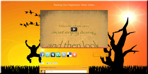 Raise Your Happiness Vibes Video